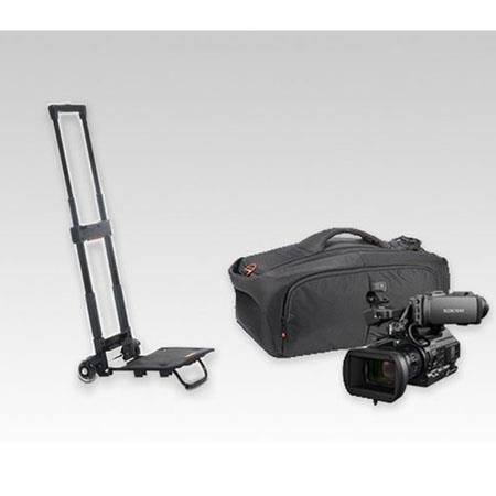 Sony VJBK1THP300 Video Journalist Backpack Kit, Includes Camcorder, Micr System, Pro Headphones, Xperia Tablet, Tripod, LED Light Kit, Trolley, Cables