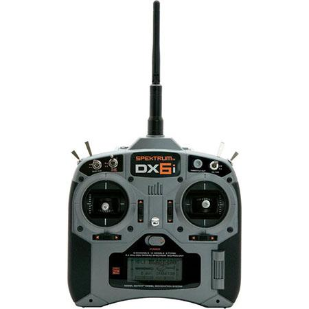Spektrum DX6i 6-Channel DSMX Radio Control Transmitter w AR610 Receiver