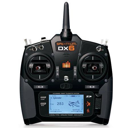 Spektrum DX6i DSMX 6-Channel 2.4GHz Mode 1 Transmitter for Aircraft Receivers