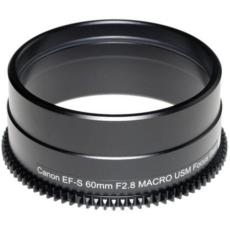 Sea & Sea Focus Gear for Canon 60mm f/2.8 USM EF-S Macro Auto-Focus Lens