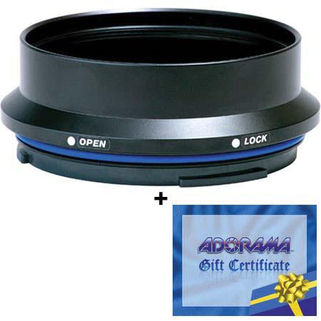 Sea & Sea DX Macro Port Base for the Nikkor 105mm f/2.8G ED-IF AF-S VR Micro Lens,w/FREE $25 Adorama Gift Card