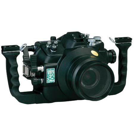 Sea & Sea DX-S5-Pro Underwater Housing for the Fujifilm S5 Digital Camera, Black