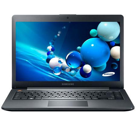 "Samsung ATIV Book 5 14"" LED HD Touchscreen Ultrabook Notebook Computer, Intel Core i3-3217U 1.80GHz, 4GB RAM, 500GB HDD+24GB SSD, Win 8 Home Premium 64-bit"