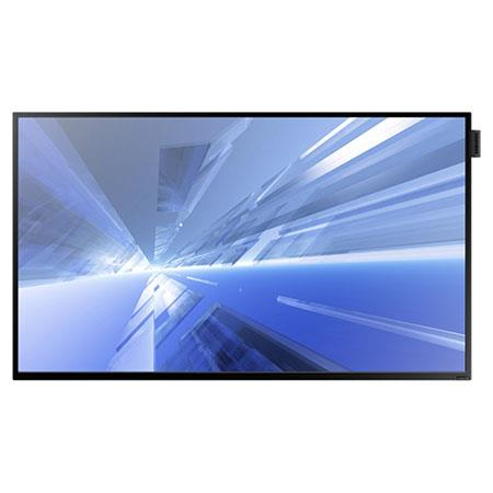 "Samsung DM32D 32"" Slim Direct-Lit Pro Commercial LED LCD Display, 420nits Brightness, 8ms Response Time, Built-in Wi-Fi"