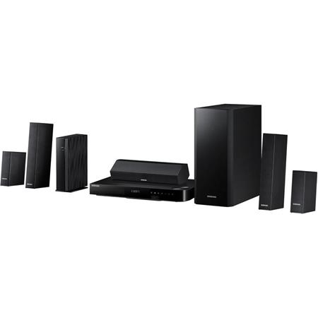Samsung HT-H6500WM 5.1-Channel 1000W 3D Smart Blu-ray Home Theater System, Integrated Wi-Fi and Bluetooth, HDMI Output, USB