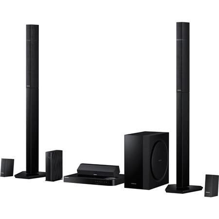 Samsung HT-H7730WM 7.1 Blu-Ray Home Theater System, 1330W Total Power, WiFi, Bluetooth, HDMI In/Out, Vacuum Tube Amp, Screen Mirroring