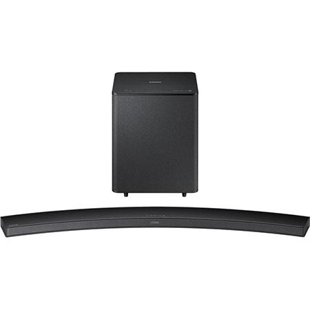 Samsung HW-H7500 Wireless Curved Soundbar Speaker with Subwoofer, 20Hz-20kHz Frequency Response, Single