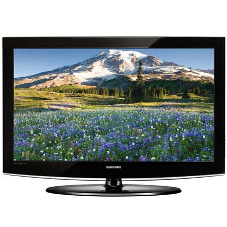 "Samsung LN-32A450 32"" LCD High-Definition HDTV Television with 10,000:1 Contrast Ratio, Black image"