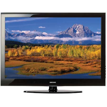 "Samsung LN-46A550 46"" LCD High Definition Television with 30,000:1 Contrast Ratio & ATSC / Clear QAM Tuner, Black image"