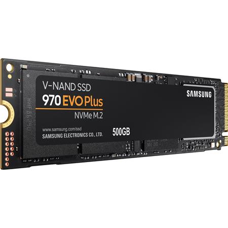 Samsung 500GB 970 EVO Plus NVMe M.2 Internal SSD, 3500MB/s Read, 3200MB/s Write