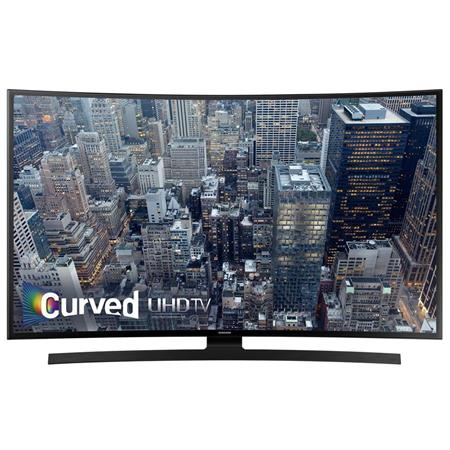 "Samsung UN40JU6700 40"" Class 4K Smart Curved LED TV, 120 Motion Rate"