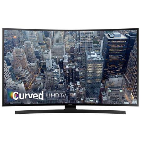 "Samsung UN40JU6700 40"" Class 4K Smart Curved LED TV, 120 Motion Rate"