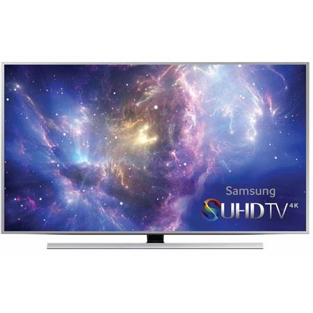 """Samsung UN48JS8500 48"""" Class 4K SUHD Ultra Full HD 3D Smart LED TV, 240 Motion Rate, 3D Glasses Included"""