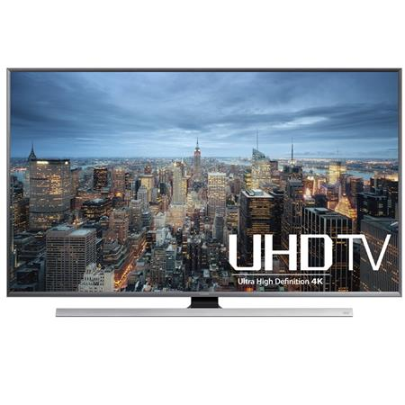 "Samsung UN50JU7100 50"" Class 4K UHD Smart LED TV, 240 Motion Rate, UHD Dimming, Peak Illuminator"
