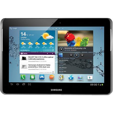 "Samsung Galaxy Note 10.1"" Tablet, Samsung Quad-Core 1.4GHz Processor, 2GB RAM, 16GB Flash Memory, Bluetooth 4.0, Android 4.0 Ice Cream Sandwich"