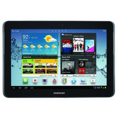 "Samsung Galaxy Tab 2 10.1 GT-P5113TSYXAR Tablet - Android 4.0 Ice Cream Sandwich, Dual-Core 1GHz Processor, 10.1"" Touchscreen, 16GB Flash Memory, WiFi, Dua"