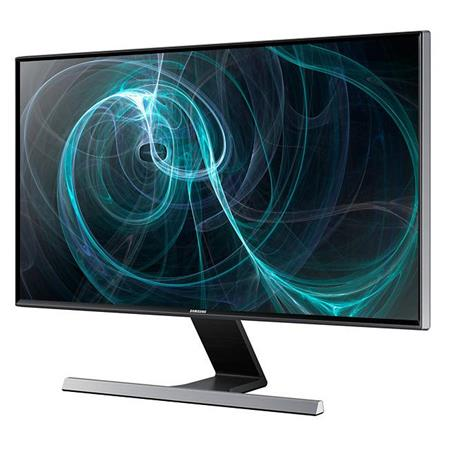 "Samsung S24D590PL 23.6"" 1080p Full HD Minimalist LED Monitor, VGA, 2x HDMI, Headphone Interface, Metallic Stand"