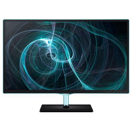 "Samsung SD390 Series 27"" Full HD LED PLS Monitor, 300cd/m2 Brightness, 1000:1 Contrast Ratio, 5ms Response Time, VGA and HDMI, Headphone Jack"