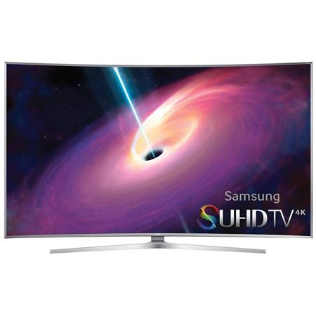 "Samsung JS9500 78"" 4K SUHD Curved Smart LED TV, 240 Clear Motion Rate, Wi-Fi, 3D Glasses Included"