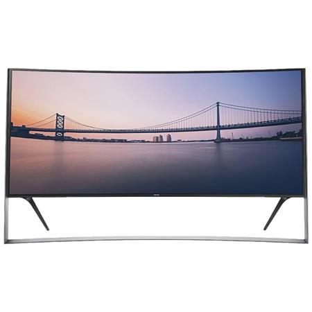 "Samsung UN105S9WAF 105"" Curved 4K UHD Smart TV, 1440 Clear Motion Rate, Wi-Fi"