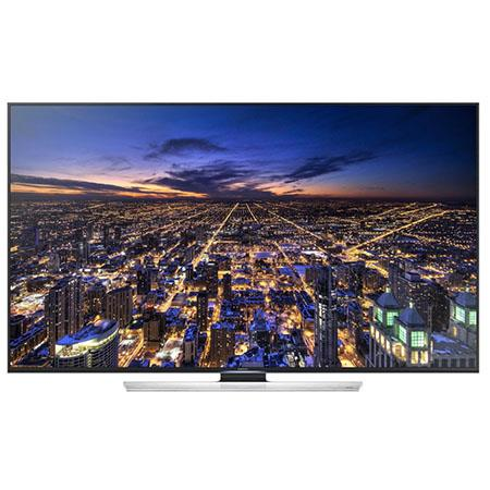 "Samsung HU8550 Series 65"" Class UHD 4K 3D Smart LED TV, 1200 CMR, Quad Screen, DTS Premium Sound 5.1, Smart View 2.0, 4 HDMI/3USB"