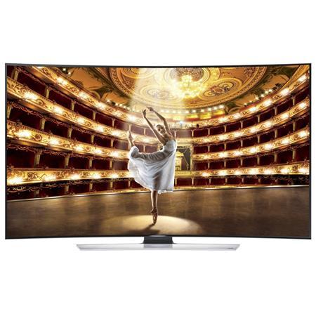 "Samsung HU9000 Series 65"" Class Full HD 4K 3D LED TV, 1440 CMR, Quad Core Plus, Curved Panel, DTS Premium Sound 5.1, 4 HDMI/3 USB, Wi-Fi"