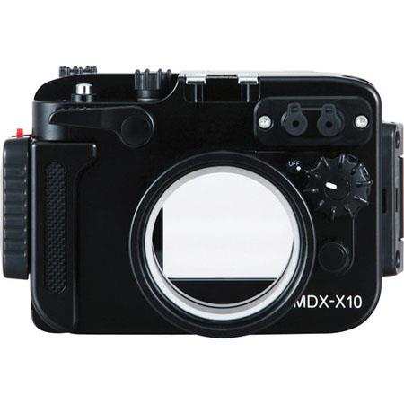 Sea & Sea MDX-X10 Housing for Fujifilm X10 Digital Camera, 100m / 330ft Depth Rating