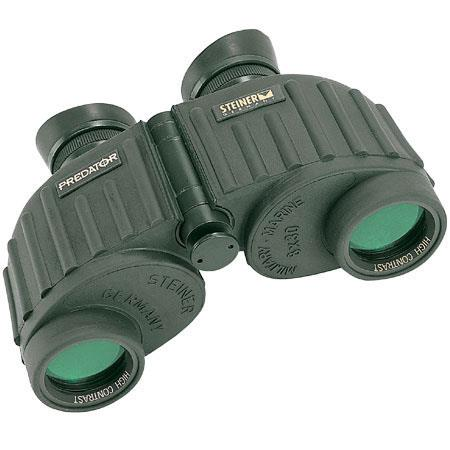 Steiner 8 x 30 Predator, Water Proof Porro Prism Binocular with 6.9 Degree Angle of View. image