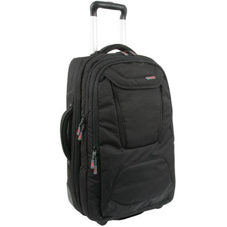 "STM Jet Roller Wheeled Laptop Carrying Case for 17"" Notebook, Black"