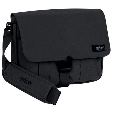 "STM Scout Small 13"" Laptop Shoulder Bag, Black"