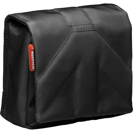 Manfrotto Stile MBSCP-7BB Nano VII Camera Pouch for Point and Shoot Digital Camera, Black