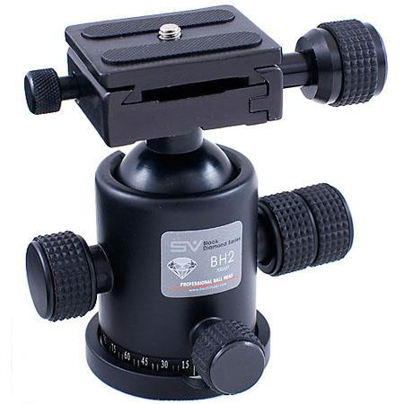 Smith Victor BH2 Metal Alloy Ball Head with Quick Release Plate, 18 lb. Capacity image