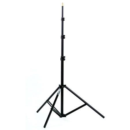 """Smith Victor RS8, 8' Raven Lightstand with 5/8"""" Mounting Stud, 4 Sections with 3 Risers, Black. image"""