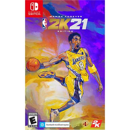 Take-Two NBA 2K21 Mamba Forever Edition for Nintendo Switch