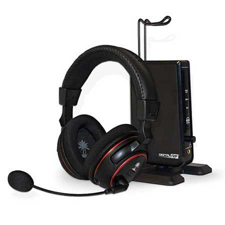 Turtle Beach Ear Force PX5 Programmable Wireless Headset for PS3 & Xbox 360, Dolby 7.1 Surround Sound