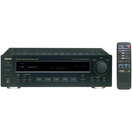 TEAC AG-790A AM/FM Stereo Receiver, Black