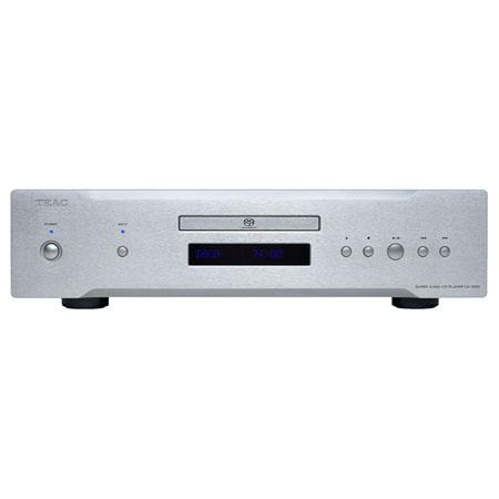 TEAC CD-1000 CD/SACD Player, >100dB Dynamic Range, Silver