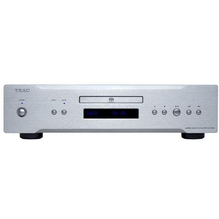 TEAC CD-2000 CD/SACD Player with USB Audio Input, >100dB Dynamic Range, Silver