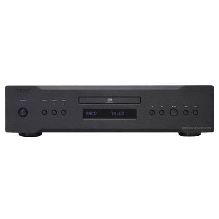 TEAC CD-3000 CD/SACD Player with USB Audio Input and Dual D/A Converters, >120dB (24bit) and >100dB (16bit) Dynamic Range, Black