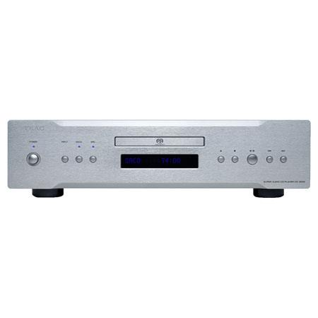 TEAC CD-3000 CD/SACD Player with USB Audio Input and Dual D/A Converters, >120dB (24bit) and >100dB (16bit) Dynamic Range, Silver