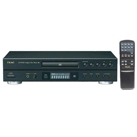 TEAC CD-P1260 CD Player with Remote, Support CD, CD-R/RW and MP3 Discs