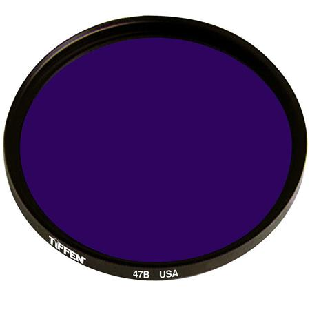 UPC 049383025026 product image for Tiffen 49mm #47 Glass Filter - Dark Blue | upcitemdb.com