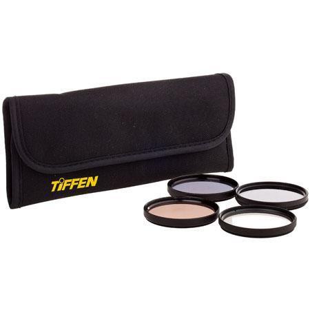 Tiffen 72mm Digital Enhancing Filter Kit, With Enhancing, Polarizer, 812 & Digital Ultra Clear Filters image