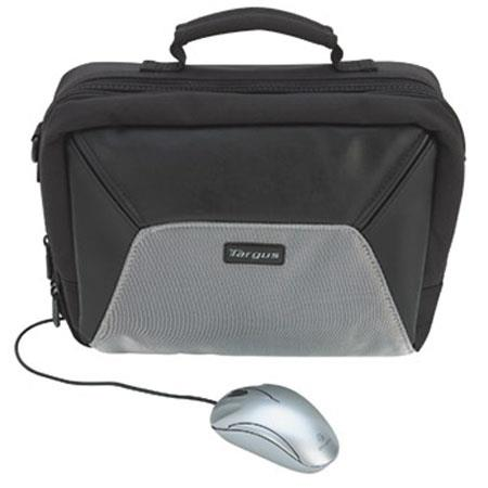 "Targus Sport, 10.2"" Netbook Shoulder Case with Black Optical Mouse Bundle."