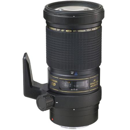 Tamron SP 180mm f/3.5 Di Macro LD-IF Autofocus Telephoto Lens for Nikon AF