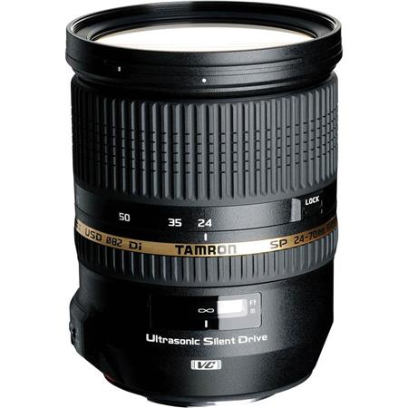 Tamron SP 24-70mm f/2.8 Di VC USD Lens for Nikon DSLR - U.S.A. Warranty