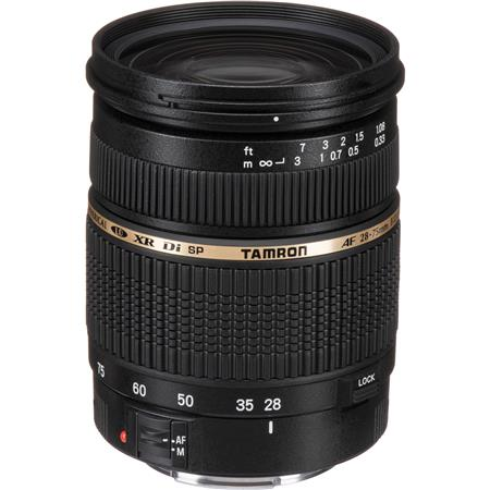 Tamron SP 28-75mm f/2.8 XR Di LD-IF Autofocus Zoom Lens for Canon EOS - U.S.A. Warranty image