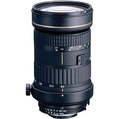Tokina 80-400mm f/4.5-5.6 AT-X Pro D Auto Focus Zoom Lens for Nikon AF-D image