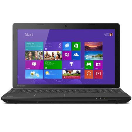 "Toshiba Satellite C55D-A5344 15.6"" Notebook Computer, AMD E1-2100 1.0GHz, 4GB RAM, 500GB HDD, Windows 8 Home Premium"