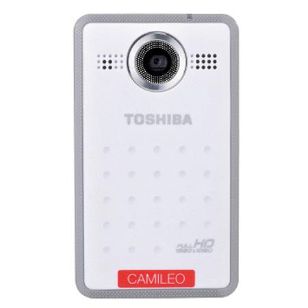Toshiba CAMILEO Clip Full HD Mini Camcorder with 4GB Micro SD Card, 5MP BSI CMOS Sensor, 1.5